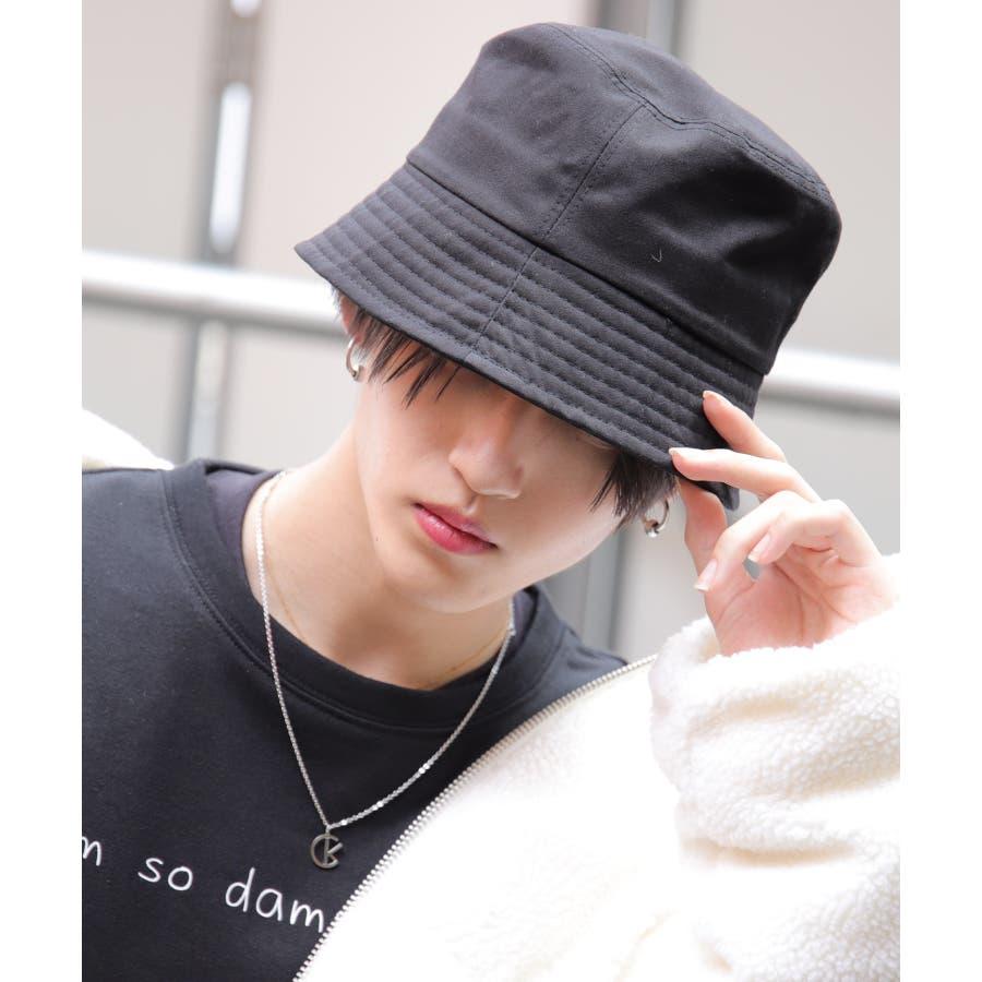 韓国 ファッション メンズ 服◆コットンバケットハット◆ 2