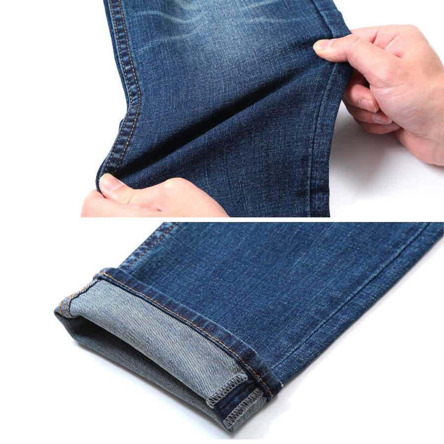 ◆roshell(ロシェル)ペイントダメージデニムパンツ◆デニム ジーンズ メンズ デニムパンツ ボトムス メンズファッション スリム 6
