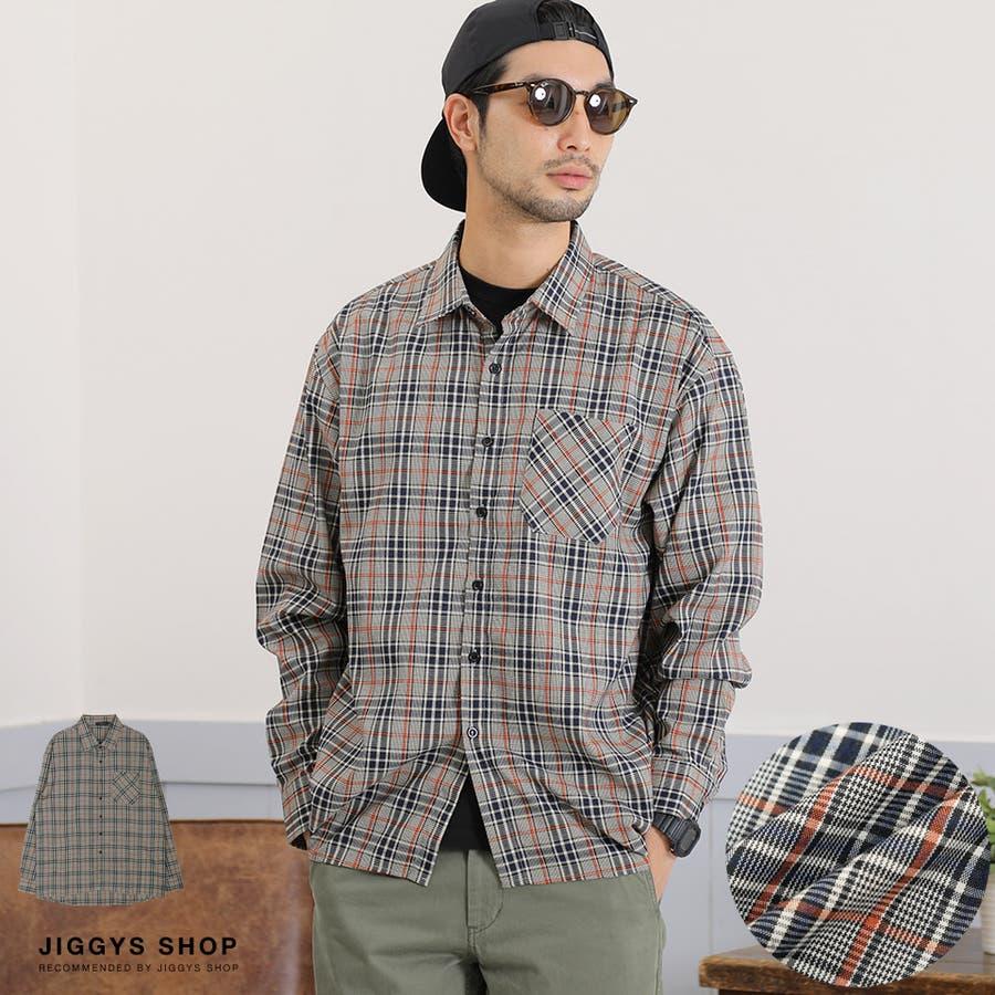 定番◆roshell(ロシェル)チェック長袖シャツ◆ 1