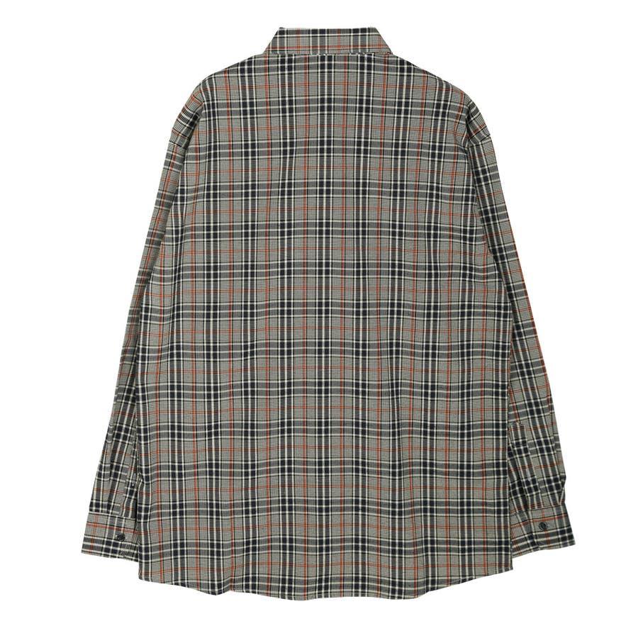 定番◆roshell(ロシェル)チェック長袖シャツ◆ 4