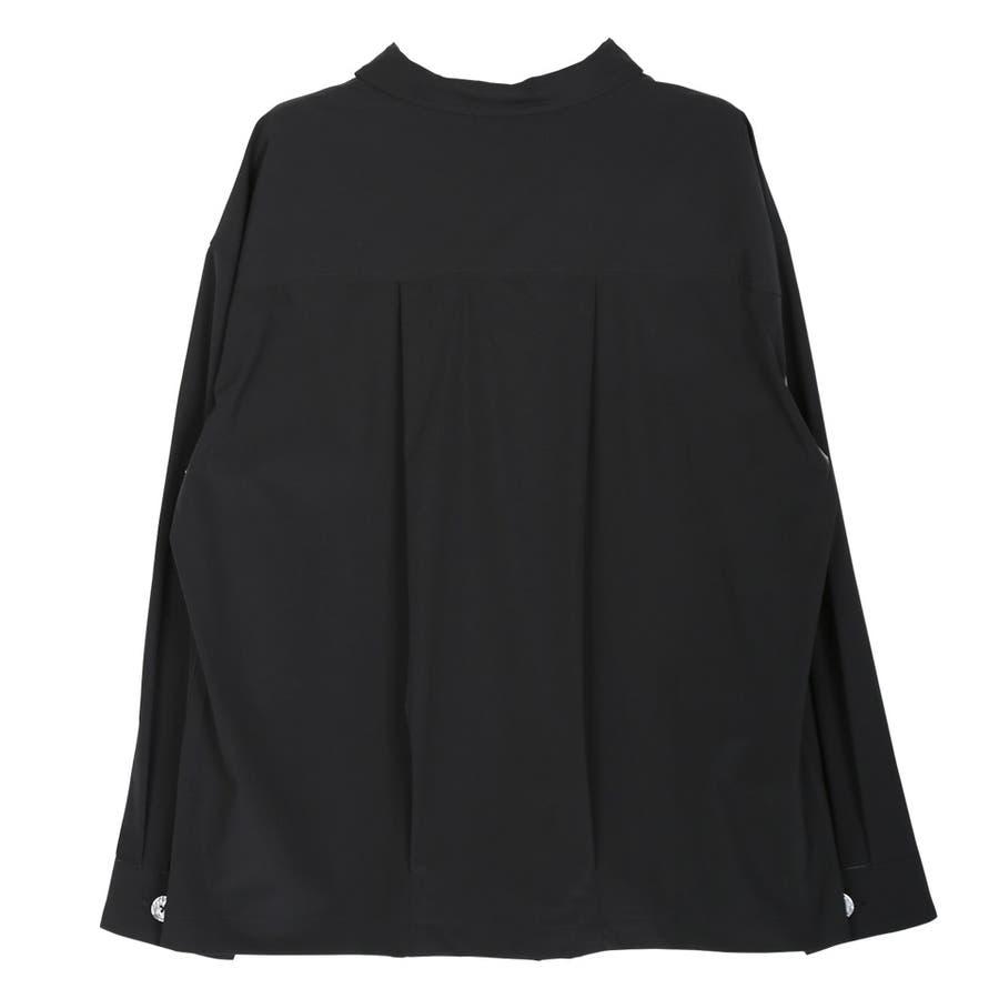 定番◆ビッグポケットバイカラーシャツ◆ 4