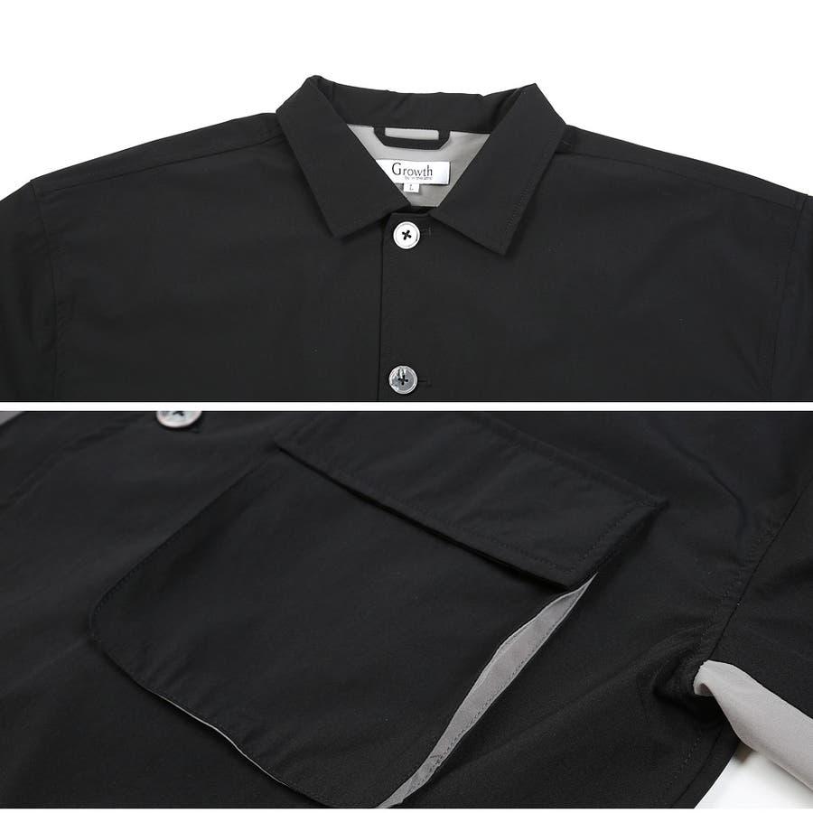 定番◆ビッグポケットバイカラーシャツ◆ 5
