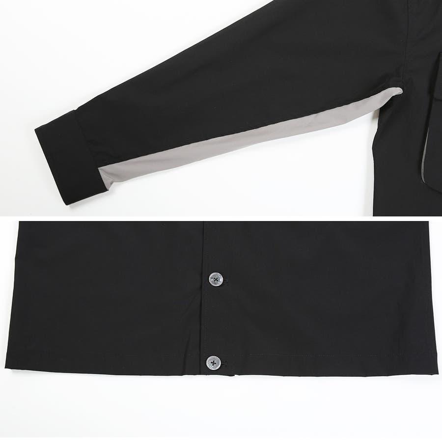 定番◆ビッグポケットバイカラーシャツ◆ 6