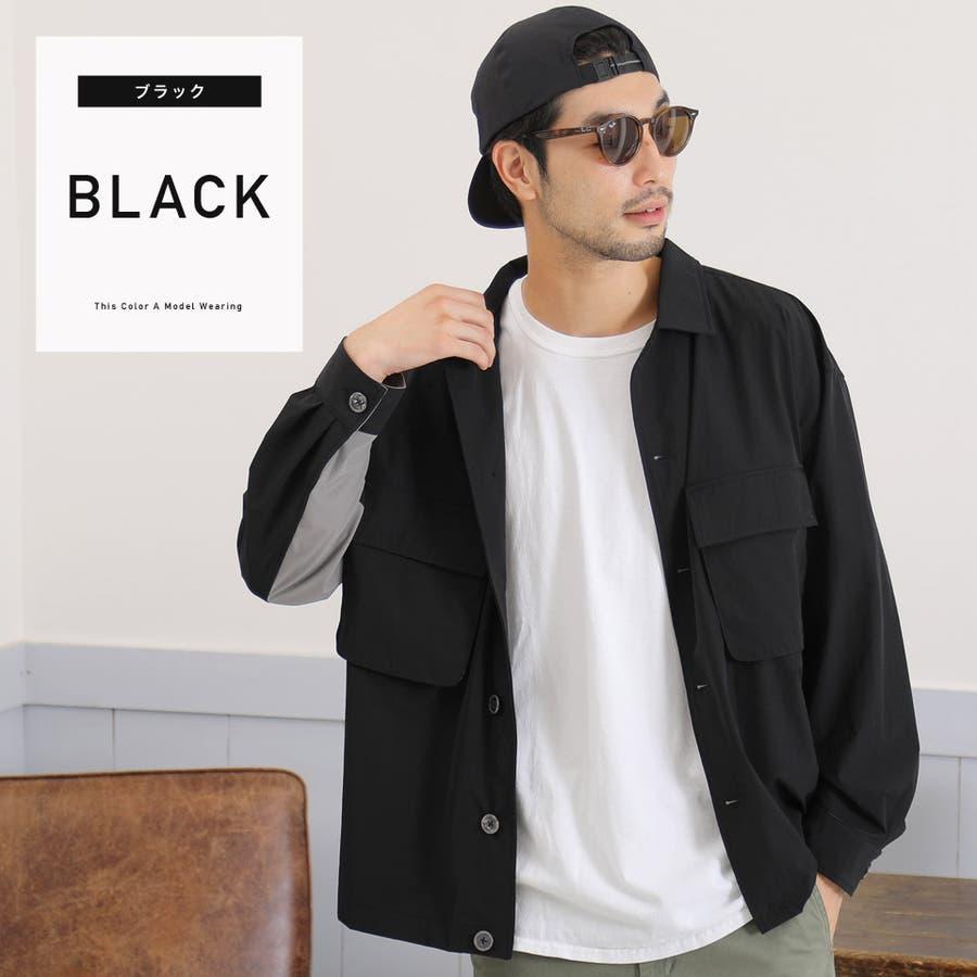 定番◆ビッグポケットバイカラーシャツ◆ 21
