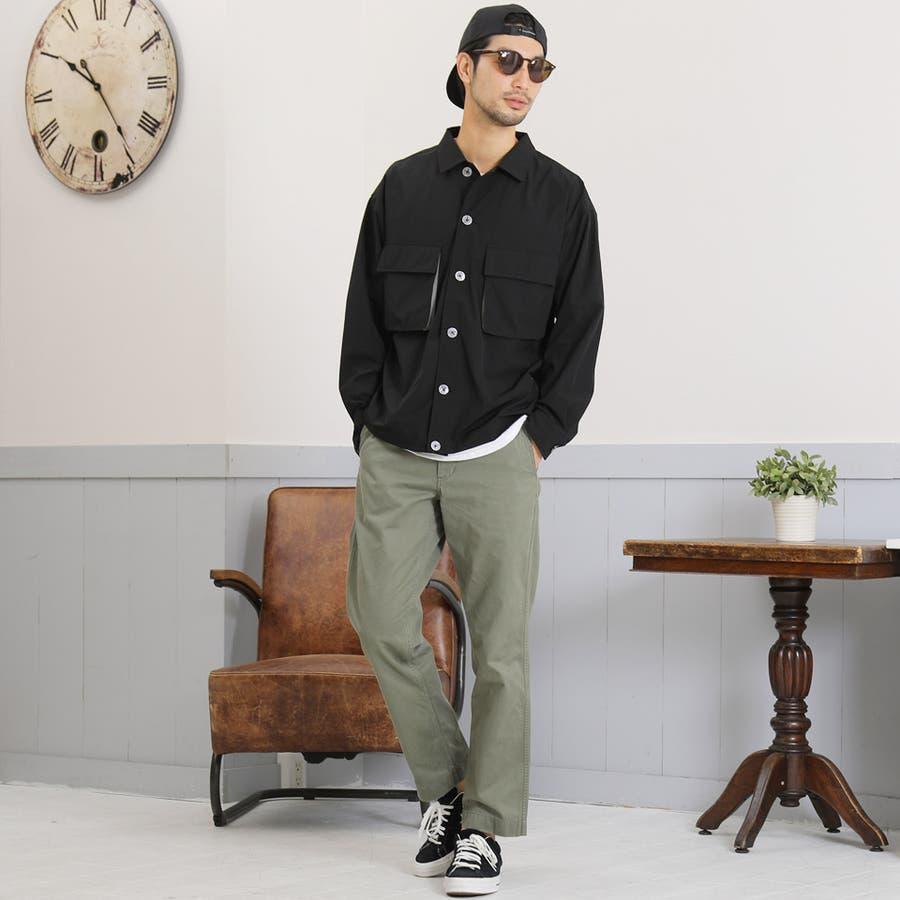 定番◆ビッグポケットバイカラーシャツ◆ 9