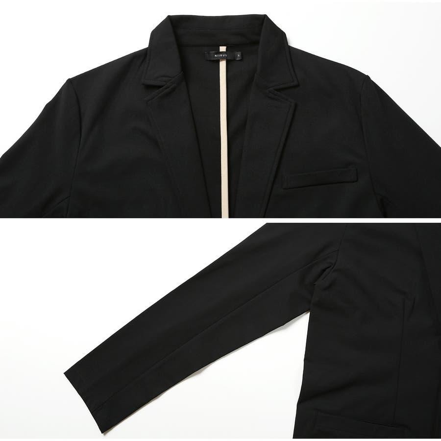 定番◆NIIRUS(ニールス)強撚糸テーラードジャケット◆ 5