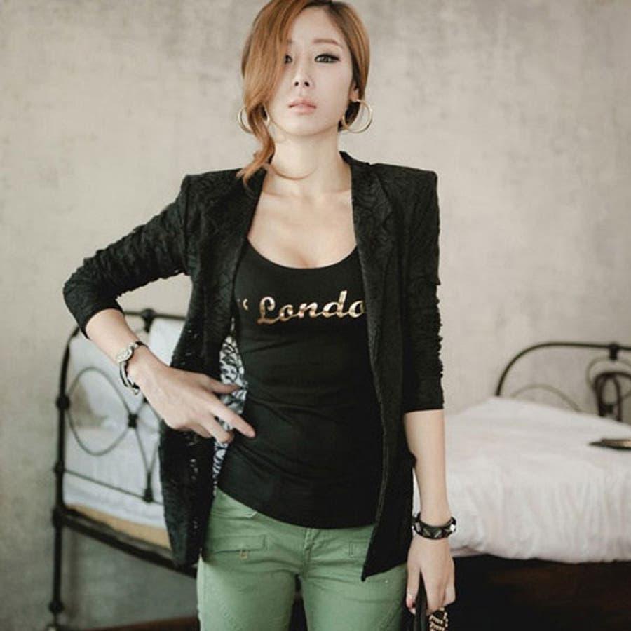 ふわ!んと甘い雰囲気 ロゴプリント Uネック 長袖 カットソー Tシャツ トップス ts13d02527 芸域