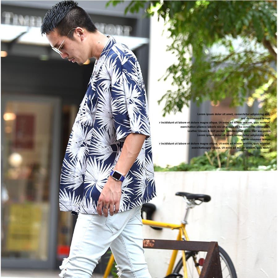 アロハシャツ メンズ シャツ 花柄シャツ 開襟シャツ オープンカラー ボタニカル ハイビスカス アロハ シャツ 半袖 半袖シャツビックサイズ 大きいサイズ 夏 夏服 夏物 お兄系 サーフ系 オラオラ系 BITTER ビター系 JOKER ジョーカー 8
