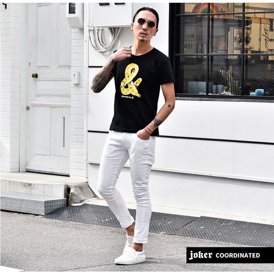 tシャツ メンズ 半袖 ロゴプリント プリントtシャツ 夏 夏服 夏物 服 プリント ブランド ラグジュアリー バナナ リッチ 高級感 白 ホワイト黒ブラック おしゃれ オシャレ お兄系 ホスト オラオラ系 BITTER系 ビター系 日本製 8