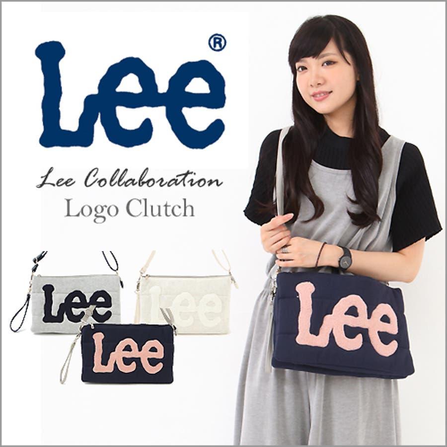 【2016AW新作】 レディースバッグ Lee コラボ ショルダーバッグ クラッチバッグ キルティング さがら刺繍 2WAY