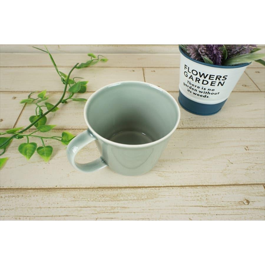 プレーリー カップ L 260cc 170g グレー マグカップ マグ スープカップ コーヒーカップ 食器 陶器 日本製 美濃焼 小田陶器 カフェ おしゃれ かわいい 北欧 北欧風 インスタ映え 食洗器対応 2