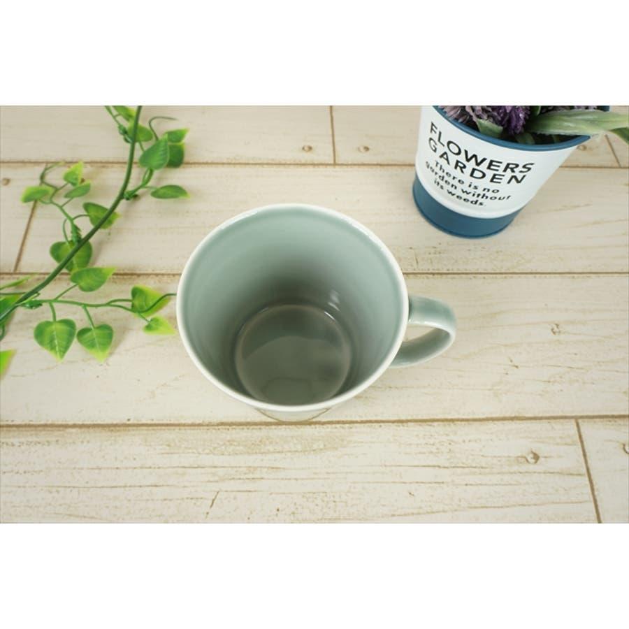 プレーリー カップ L 260cc 170g グレー マグカップ マグ スープカップ コーヒーカップ 食器 陶器 日本製 美濃焼 小田陶器 カフェ おしゃれ かわいい 北欧 北欧風 インスタ映え 食洗器対応 4