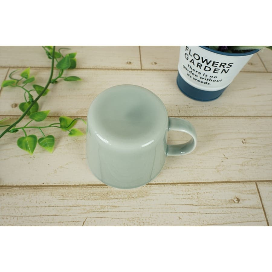 プレーリー カップ L 260cc 170g グレー マグカップ マグ スープカップ コーヒーカップ 食器 陶器 日本製 美濃焼 小田陶器 カフェ おしゃれ かわいい 北欧 北欧風 インスタ映え 食洗器対応 5