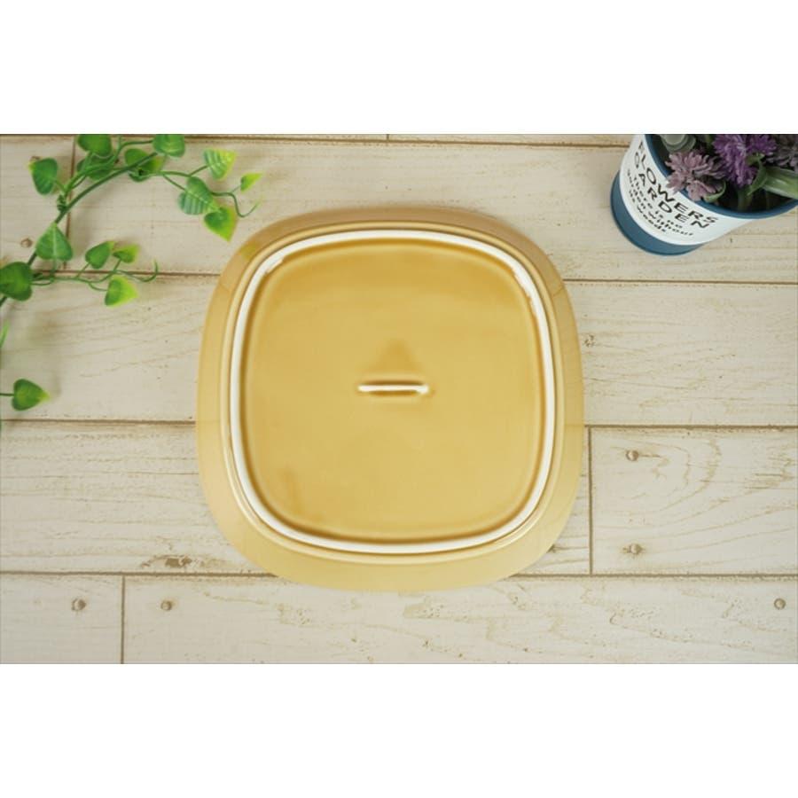 プレーリー プレート L 21.5cm 620g マスタード オレンジ お皿 パスタ皿 カレー皿 サラダ皿 食器 陶器 日本製 美濃焼小田陶器 みずなみ焼 カフェ おしゃれ かわいい 北欧 北欧風 インスタ映え 食洗器対応 5