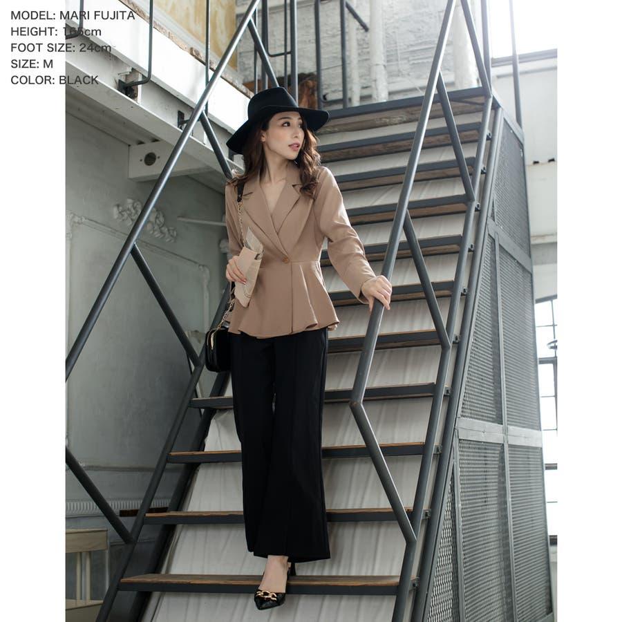 チェーンデザインポインテッドトゥミュール /20509  ミュール ヒール ピンヒール レディース 大きいサイズ パンプス 歩きやすい サンダル 韓国 つっかけ ポインテッドトゥ 小さいサイズ クロコ 型押し 6