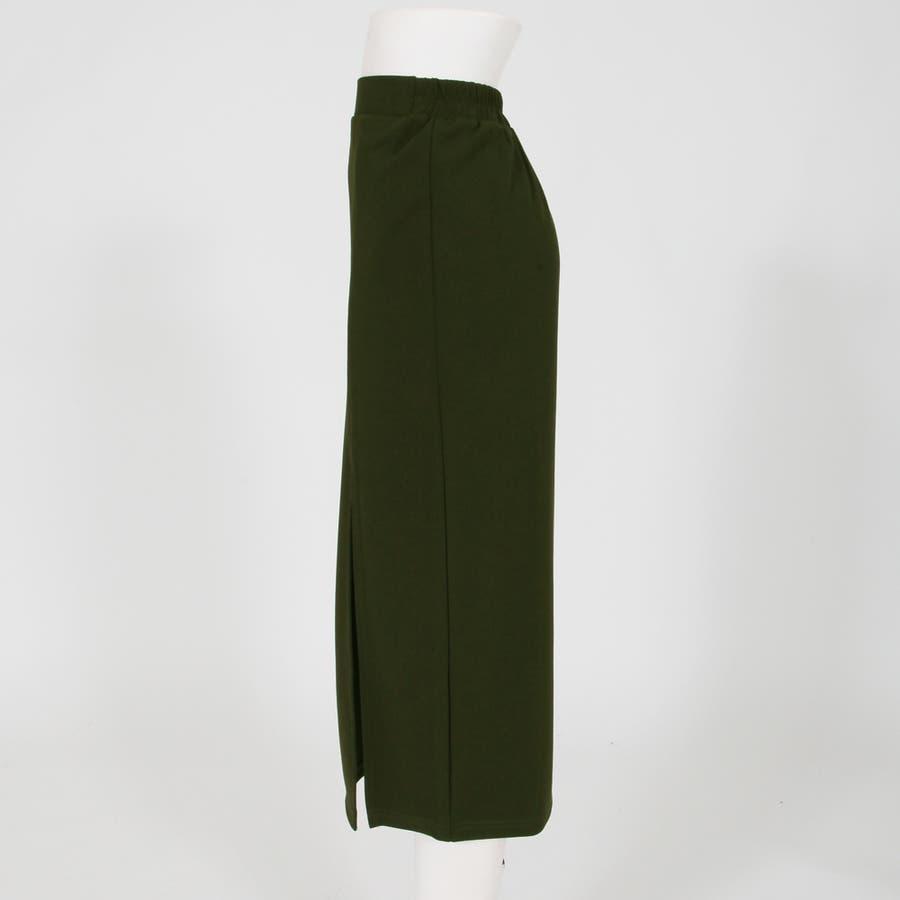 スリットデザインミディアム丈スカート/520054 5