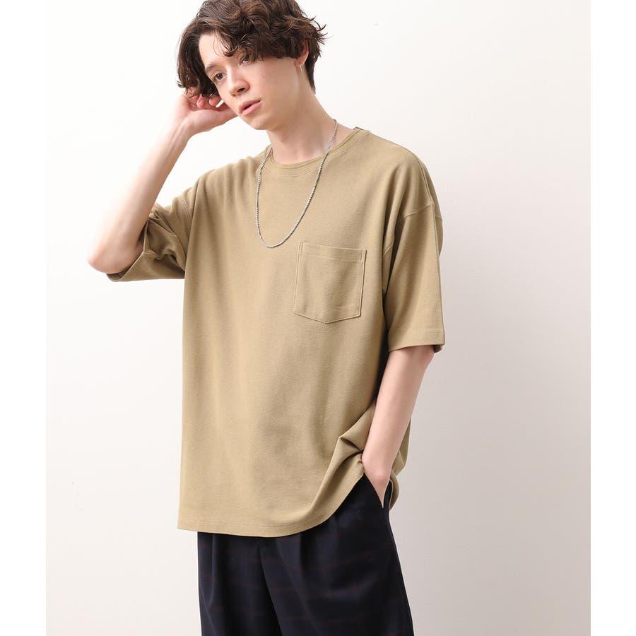 USAコットン鹿の子Tシャツ 4