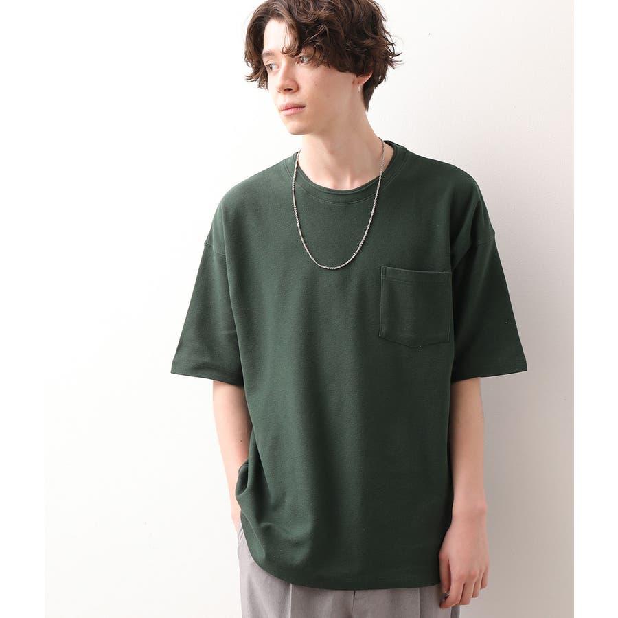 USAコットン鹿の子Tシャツ 114