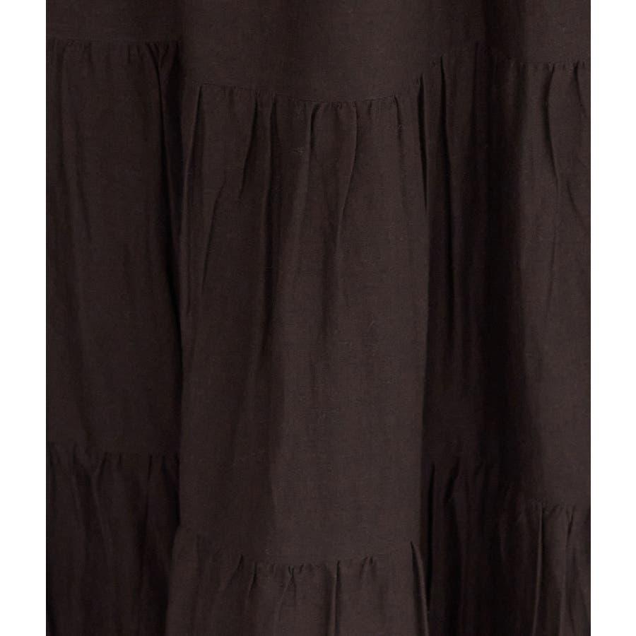 インド綿ボイルティアードスカート 6