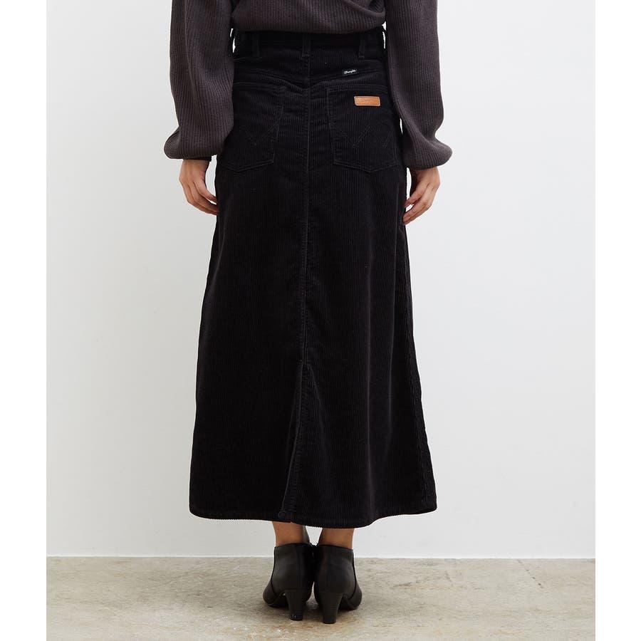 【一部店舗限定】【WRANGLER×ROPE' PICNIC】コーデュロイフレアスカート 3