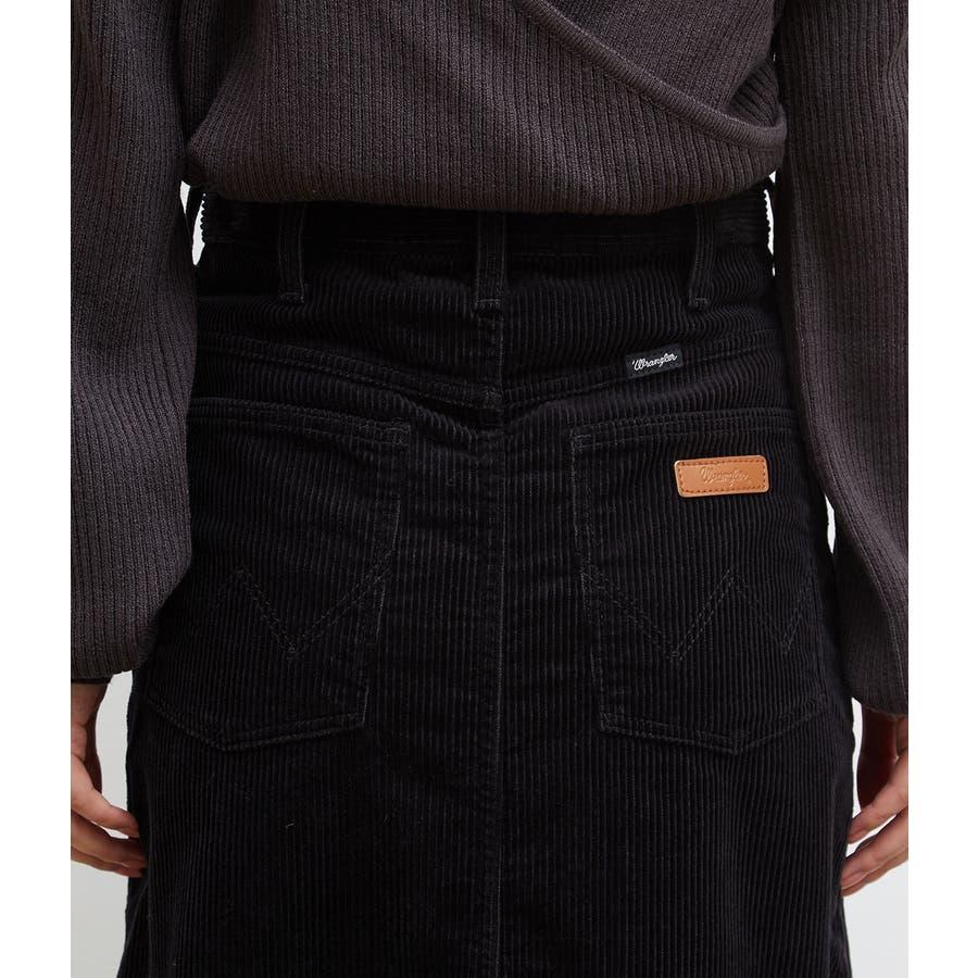 【一部店舗限定】【WRANGLER×ROPE' PICNIC】コーデュロイフレアスカート 5