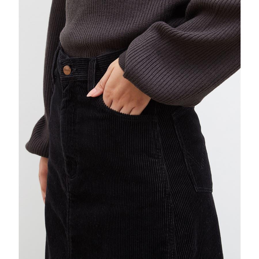 【一部店舗限定】【WRANGLER×ROPE' PICNIC】コーデュロイフレアスカート 6