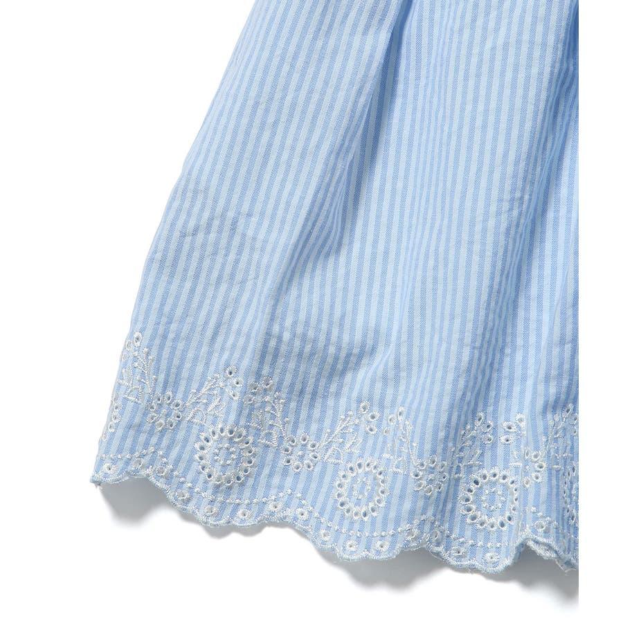 【ROPE' PICNIC KIDS】インナーパンツ付きスカラップレーススカート 5