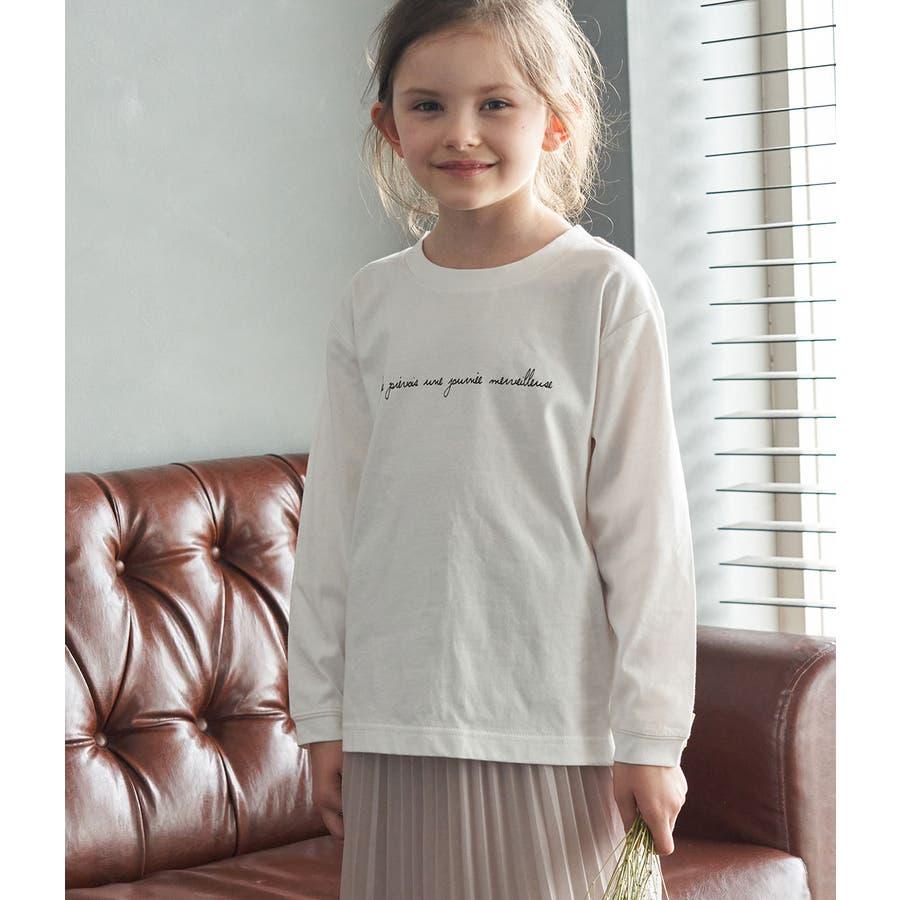 【ROPE' PICNIC KIDS】ロゴロングTシャツ 1