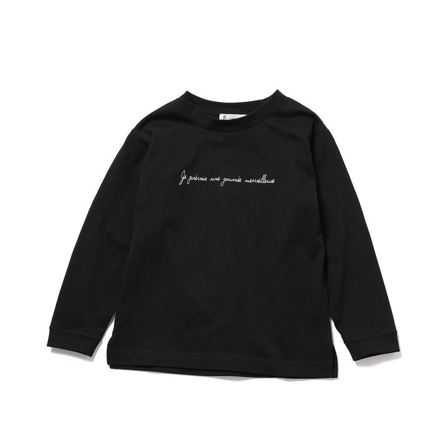 【ROPE' PICNIC KIDS】ロゴロングTシャツ 21