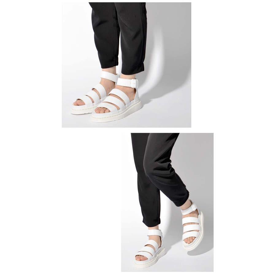 ドクターマーチン Dr.Martens Clarissa サンダル シューズ レディース グラディエーター チャンキーストラップベルトレザー クラリッサ| 靴 かわいい おしゃれ シューズ ブランド 大人 レディースシューズ マーチンレディースサンダル 6
