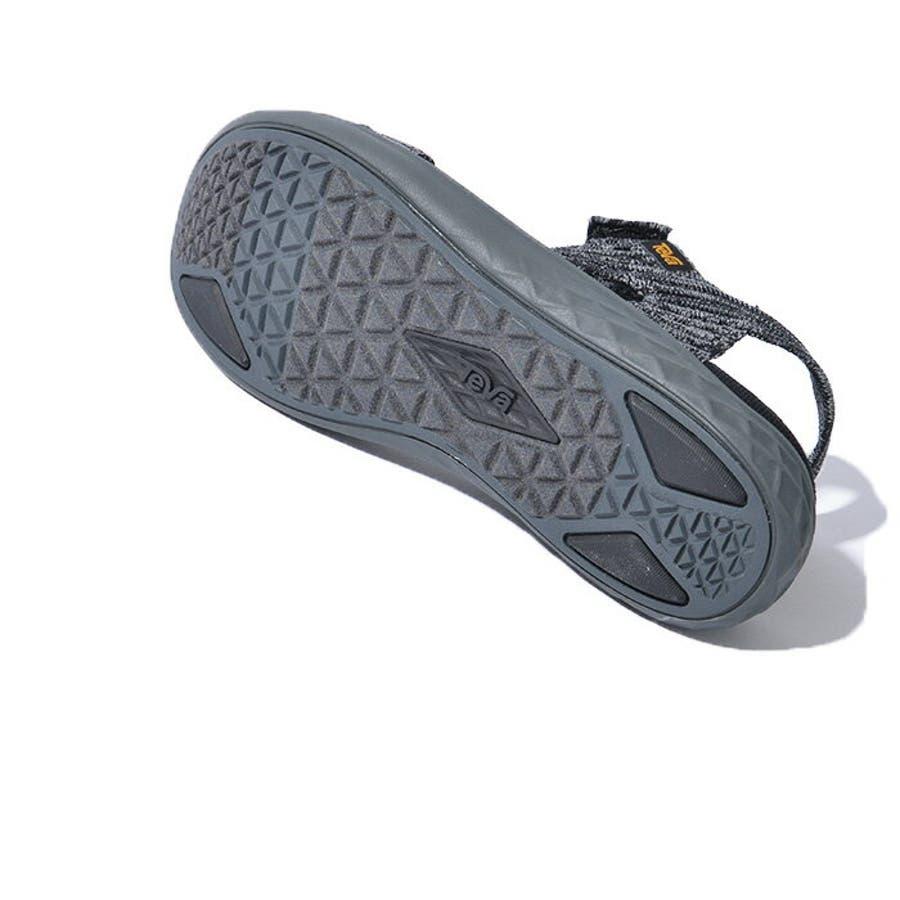 TEVA テバ TERRA-FLOAT2 KNIT UNIVERSAL ウィメンズ テラフロート サンダル 1091593スポーツサンダル 靴 ブラック グレー 9