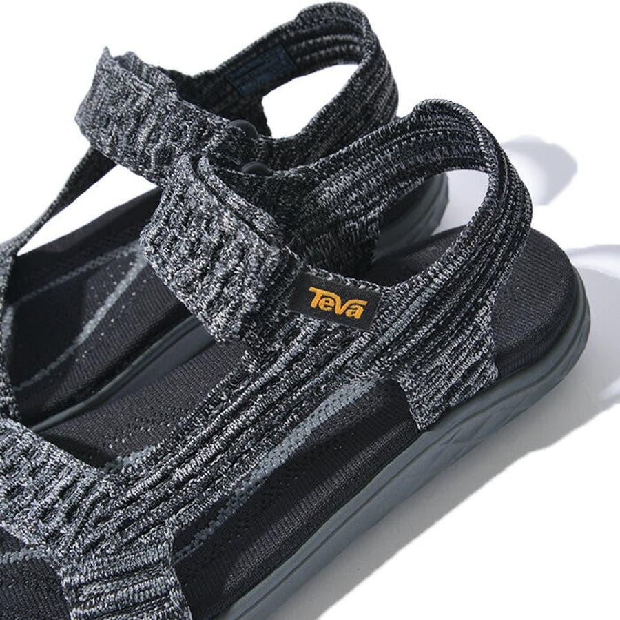 TEVA テバ TERRA-FLOAT2 KNIT UNIVERSAL ウィメンズ テラフロート サンダル 1091593スポーツサンダル 靴 ブラック グレー 10