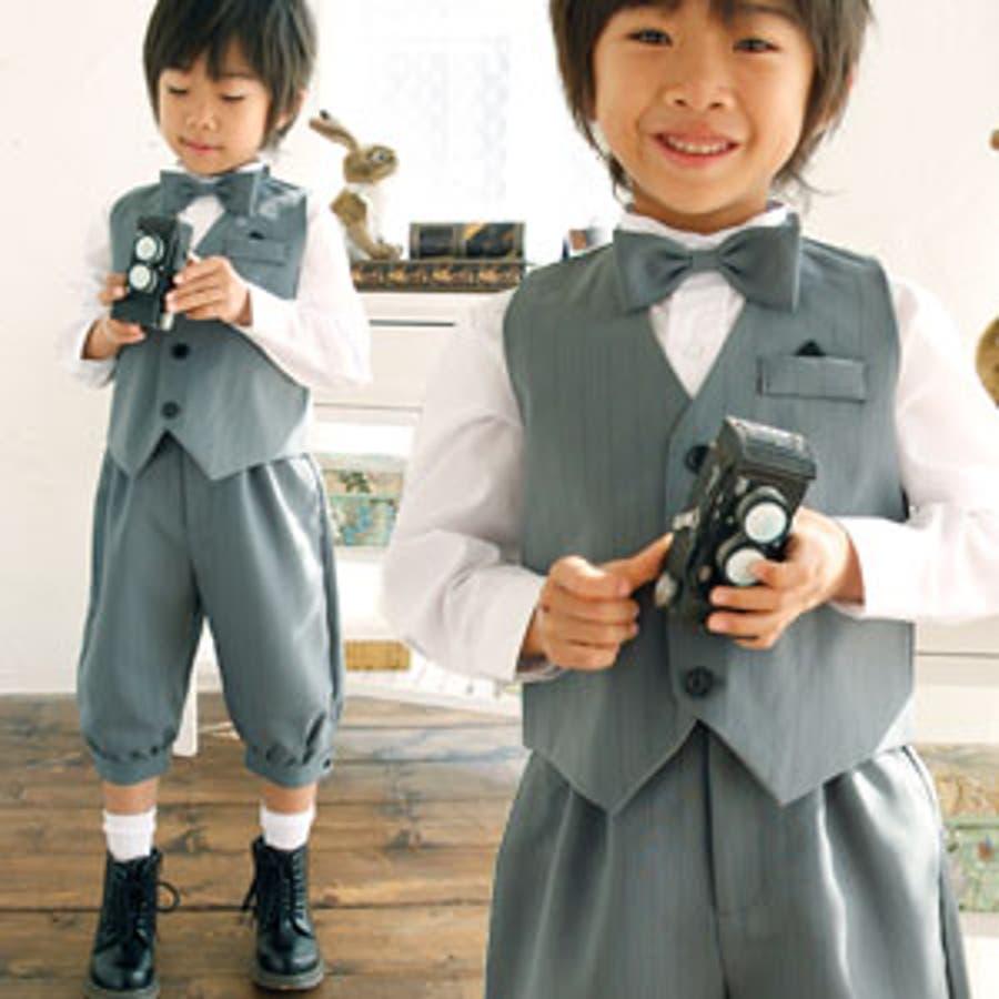 0420e6df31293 男の子 スーツ ニッカポッカ 子供 キッズ 子供服 フォーマル 入学式 発表会 結婚式 七五三 ベスト