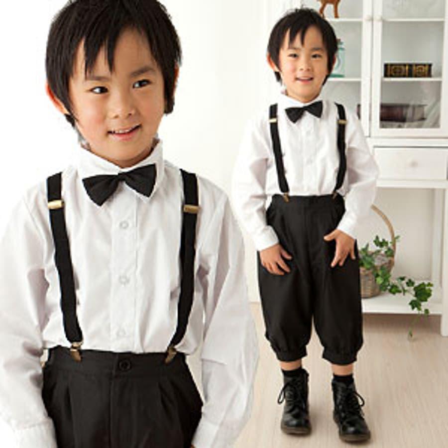 f088d9942f3ef 男の子 スーツ ニッカポッカ 子供 キッズ 子供服 フォーマル 入学式 発表会 結婚式 七五三 サスペンダー