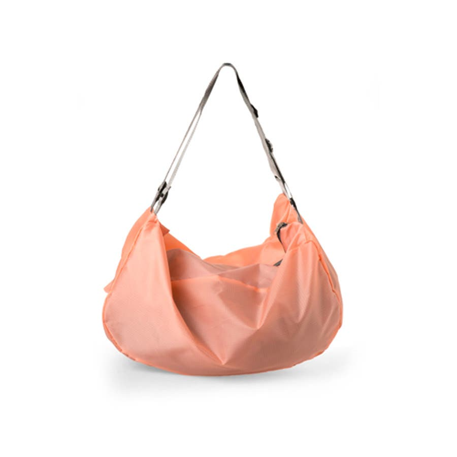 2WAY ショルダーバック リュック バッグ ナイロンバッグ コンパクト 折り畳み ケース付き トラベル 旅行 長さ調節可能 レディース メンズ ユニセックス<br> 3