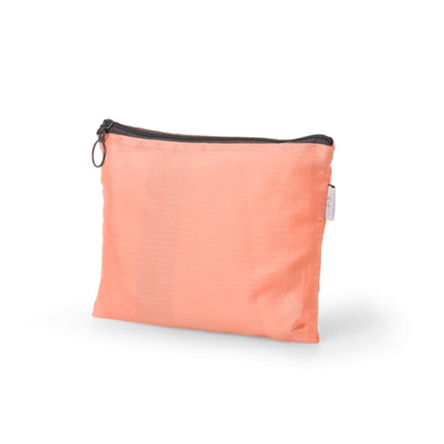 2WAY ショルダーバック リュック バッグ ナイロンバッグ コンパクト 折り畳み ケース付き トラベル 旅行 長さ調節可能 レディース メンズ ユニセックス<br> 4