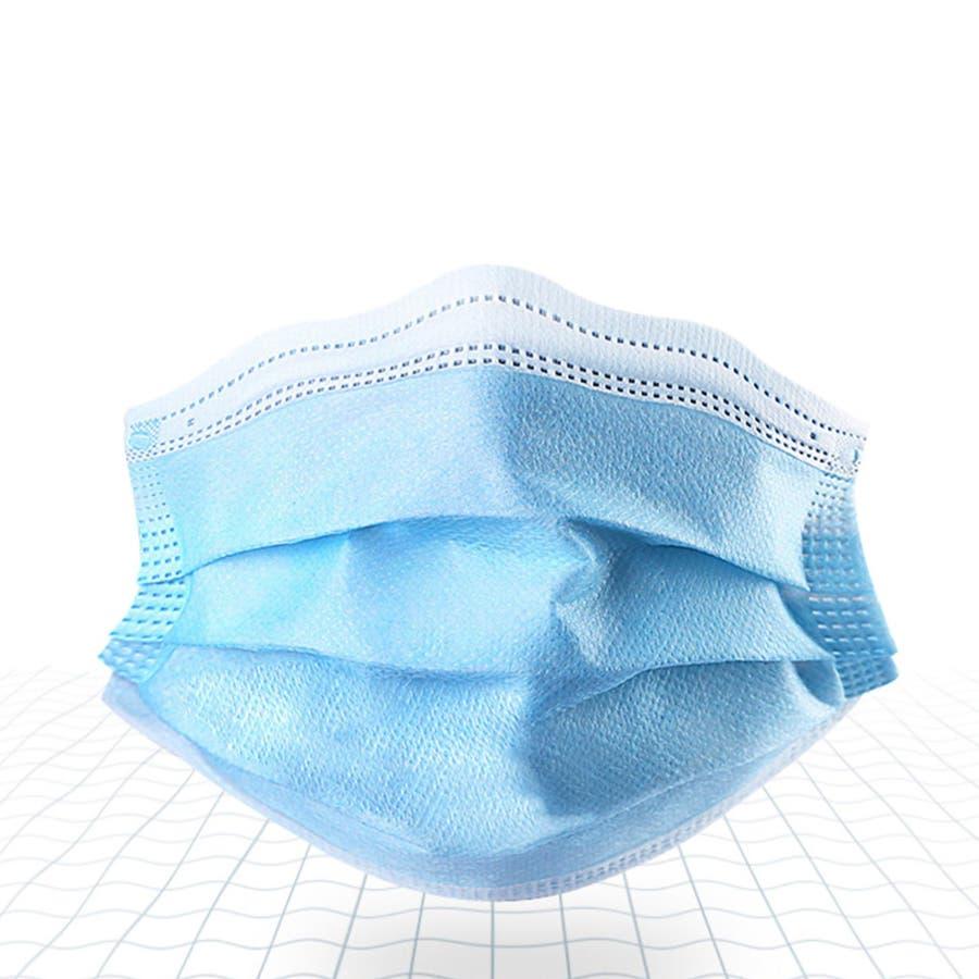 マスク 50枚 使い捨てマスク ウィルス  三層構造 不織布マスク 男女兼用<br> 5