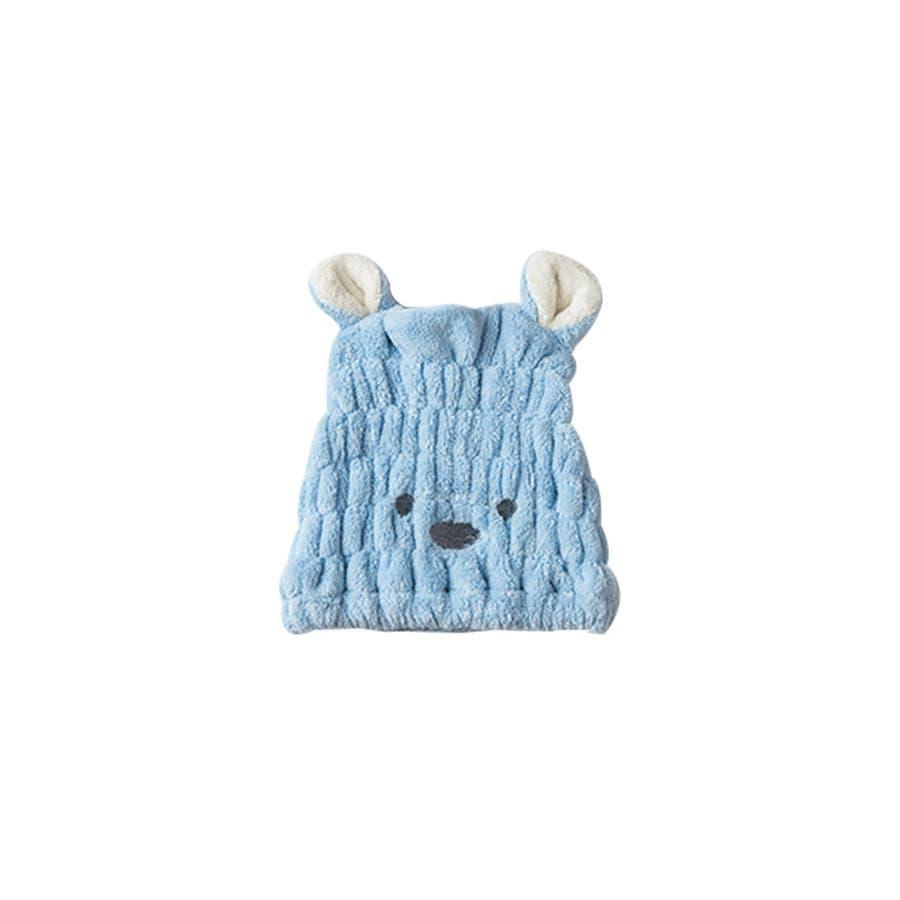 吸水タオルヘアキャプ レディース 子供 ウサギ 耳 みみ タオル 吸収 速乾 柔らか ヘアキャップ<br> 59