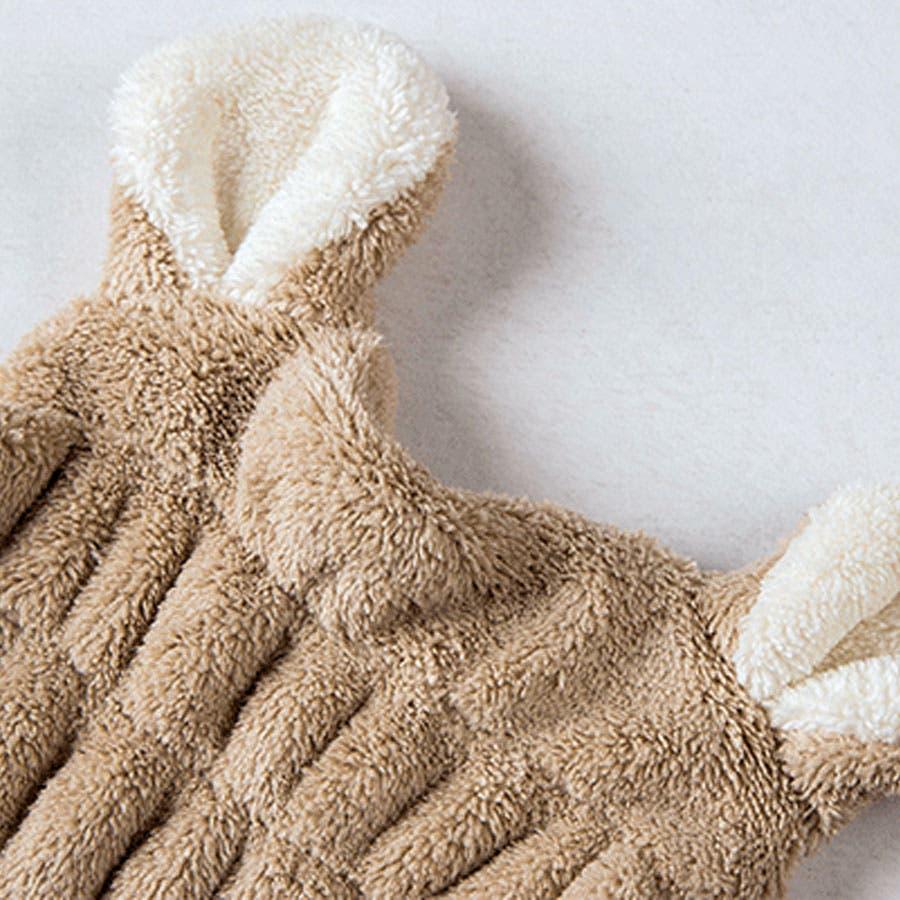 吸水タオルヘアキャプ レディース 子供 ウサギ 耳 みみ タオル 吸収 速乾 柔らか ヘアキャップ<br> 3