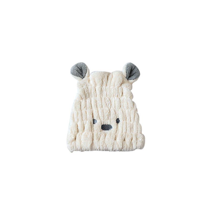 吸水タオルヘアキャプ レディース 子供 ウサギ 耳 みみ タオル 吸収 速乾 柔らか ヘアキャップ<br> 41