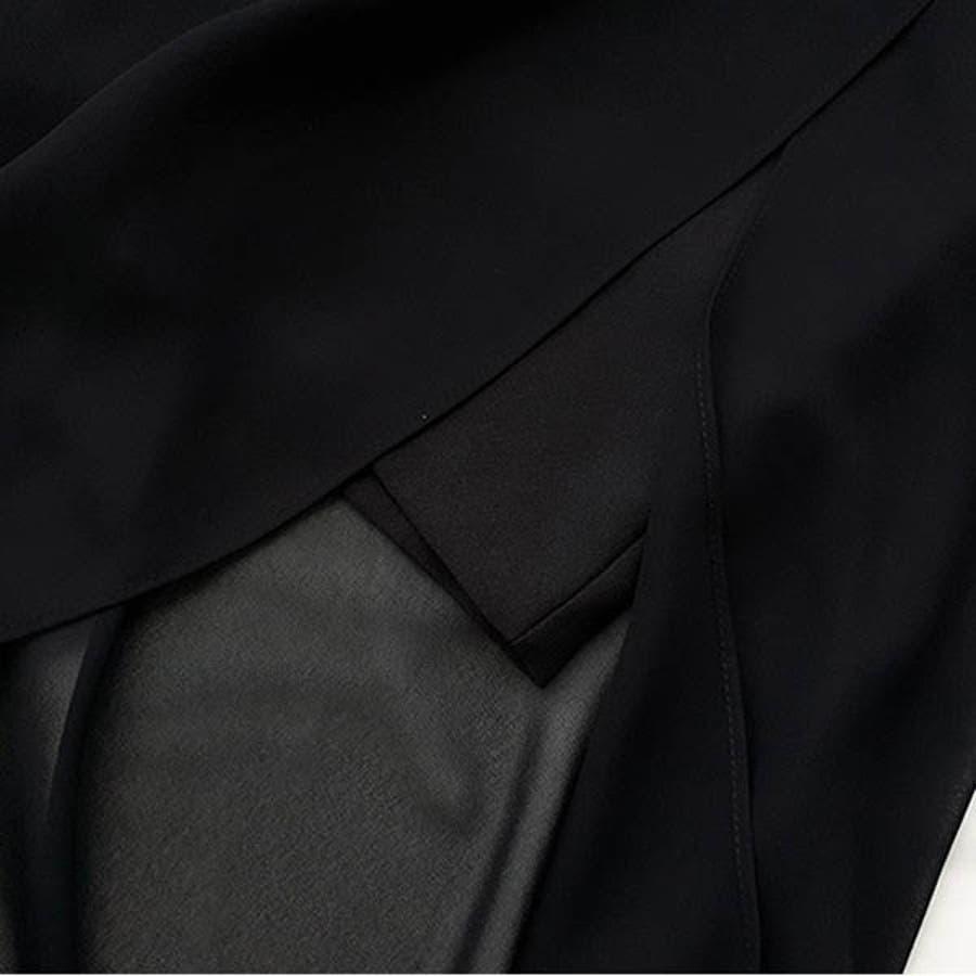 オールインワン レディース サロペット コンビネゾン ワンピース風 ノースリーブ シースルー レース 春 夏 韓国 to21205 8