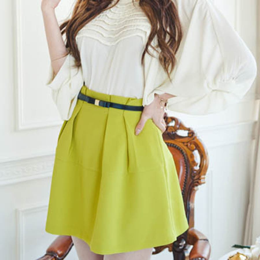 【bl8227】ワンピースやスカートのワンポイントとして使える細いデザインの革リボンベルト(6色) 3