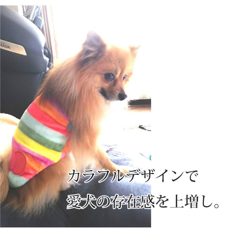 犬 服 犬服 犬の服 タンクトップ カラフル ドッグウェア 洋服 5
