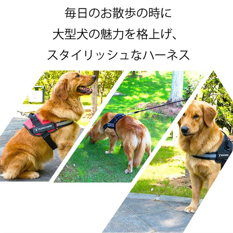 ハーネス 胴輪 大型犬 中型犬 犬服 犬 服 犬の服 ドッグウェア 2