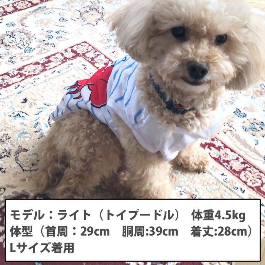 犬 服 犬服 犬の服 タンクトップ カニ ライト メッシュ ドッグウェア 2