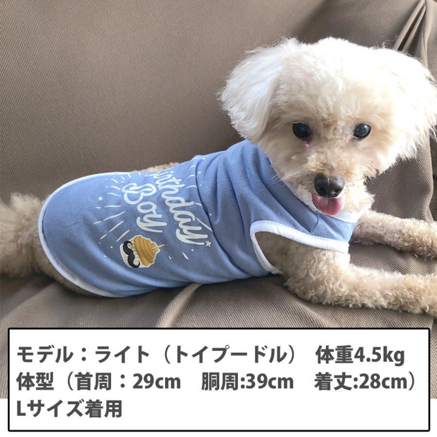 犬 服 犬服 犬の服 タンクトップ お誕生日 男の子 女の子 ドッグウェア 3