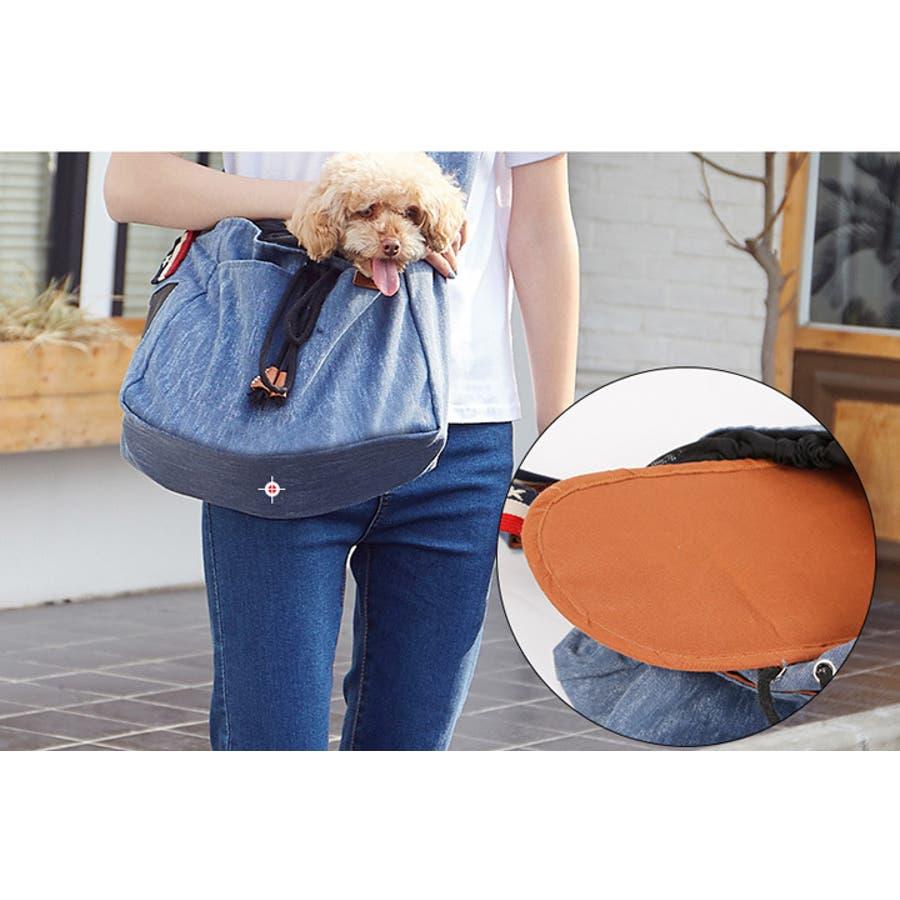 スリング 犬 バッグ キャリーバッグ 抱っこひも ドッグスリング 犬用 服 2