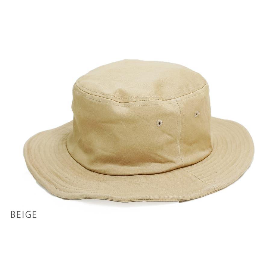 帽子メンズハットバケットハット無地サファリハットレディースKeysキーズCNT10068 3