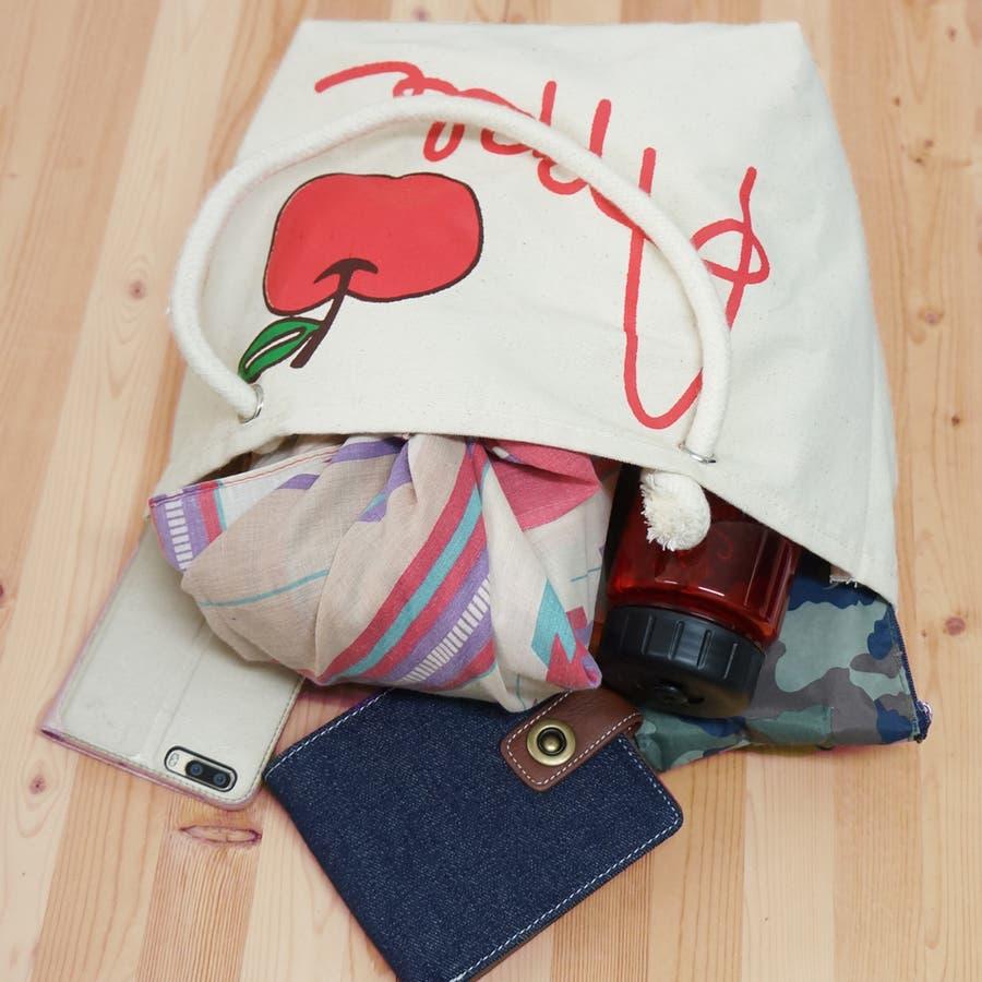 バッグ トートバッグ ミニトート レディース フルーツバッグ 帆布 キャンバス ランチバッグ エコバッグ コンビニ Sサイズ キーズ Keys-HB003 4
