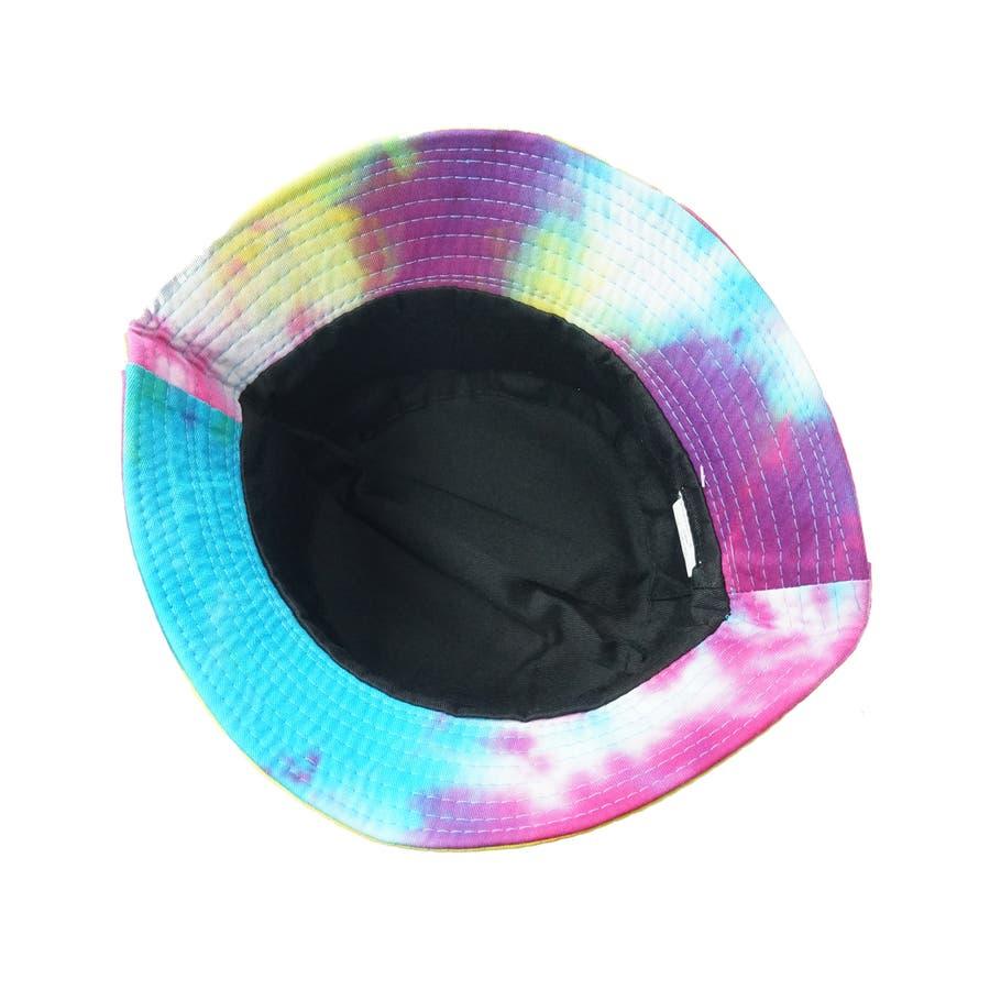 バケットハット 帽子 メンズ レディース ハット サファリハット 折りたたみ コットン タイダイ キーズ Keys-132 5